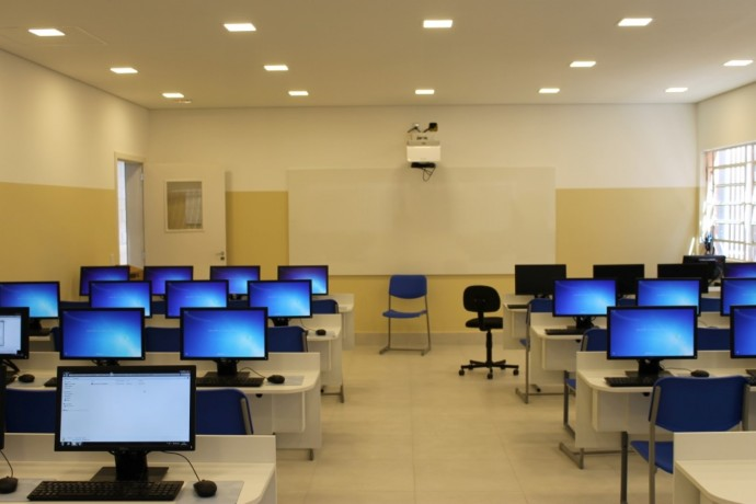 Novo Laboratório depois da reforma