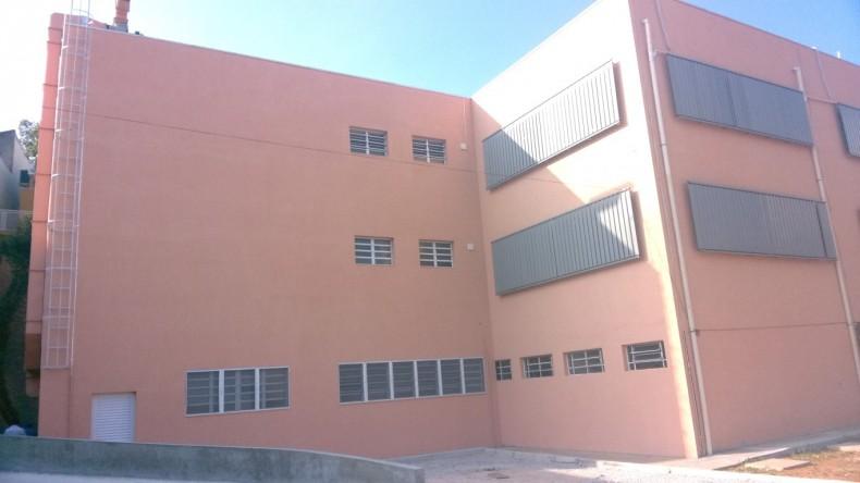 Ampliação e reforma do prédio do Colégio